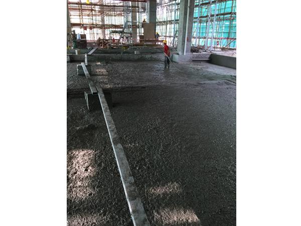 佛山星港城国际广场地下室上翻梁填充6