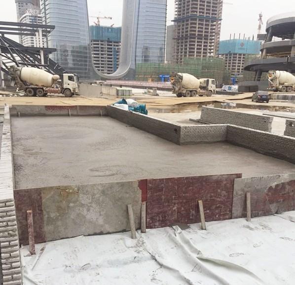 深圳前海lou层大板平台上方xiao防通道路基